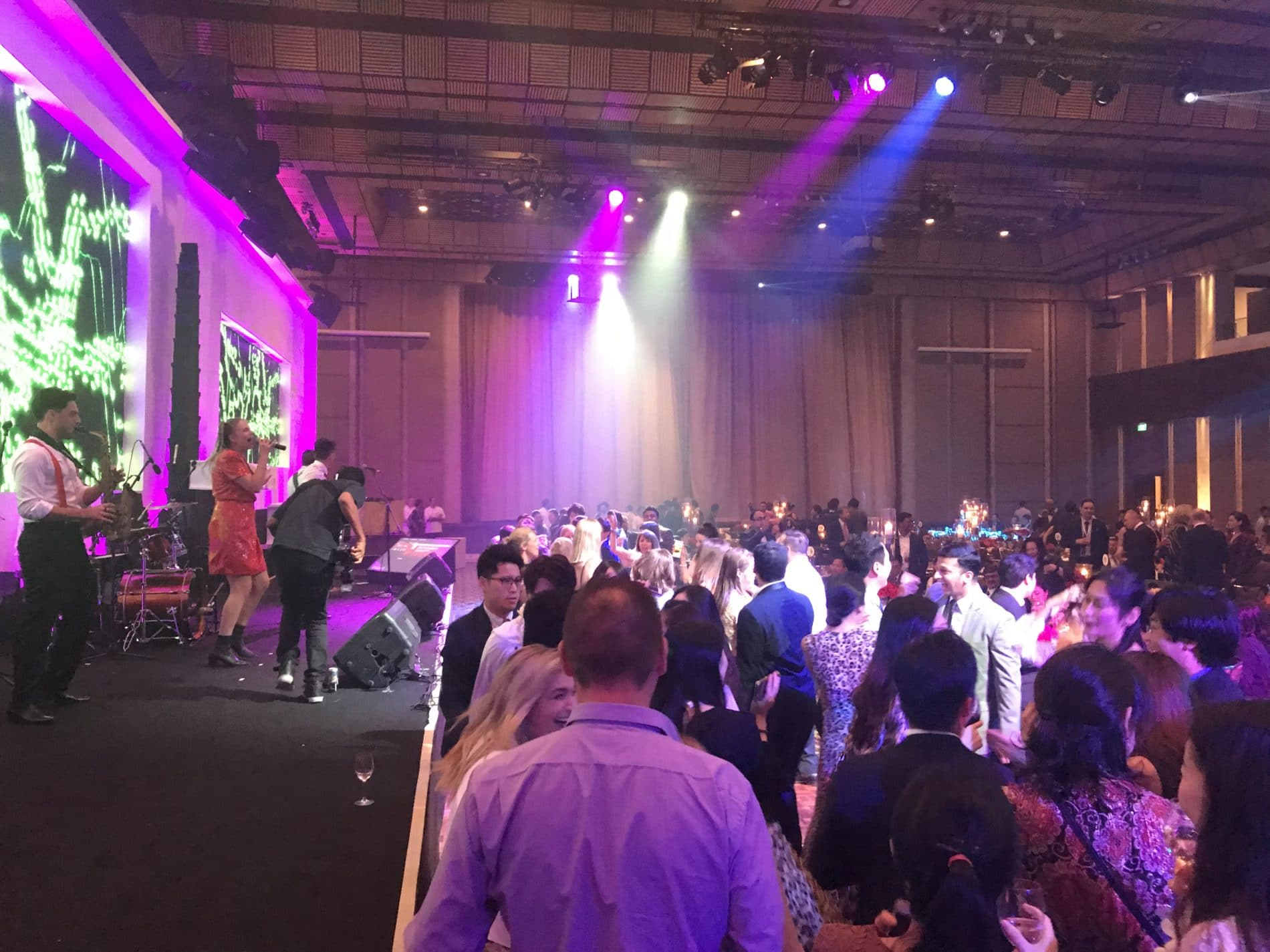 Bali band performance for Edwards Lifesciences