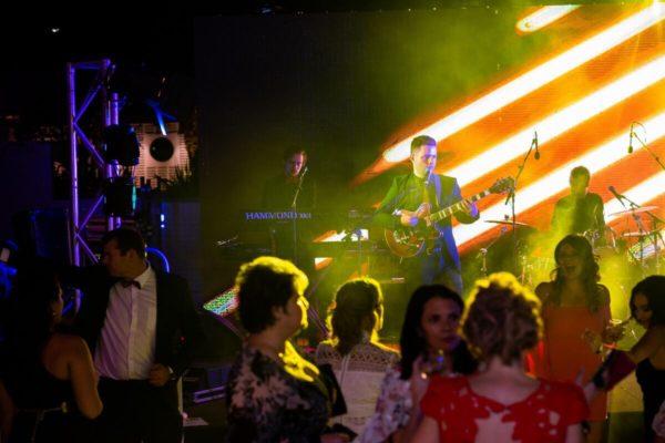Crowd dancing at the Cowboys Gala Night