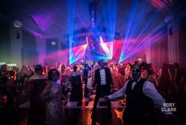 Masquerade ball entertainment by Redtie Band
